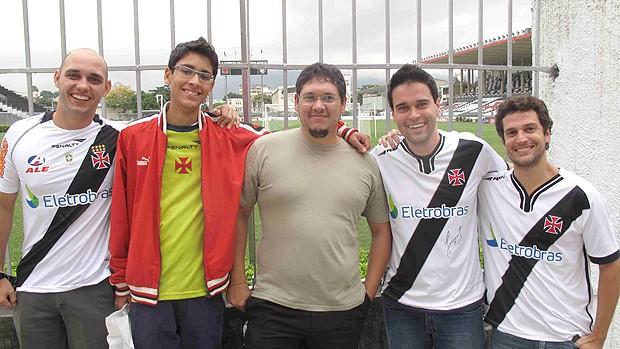 Amigos Felipe vasco (Foto: Rafael Cavalieri / Globoesporte.com)