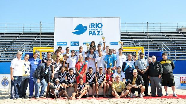 Vasco e Botafogo se enfrentaram do Desafio dos Campeões (Foto: Bia Alves)
