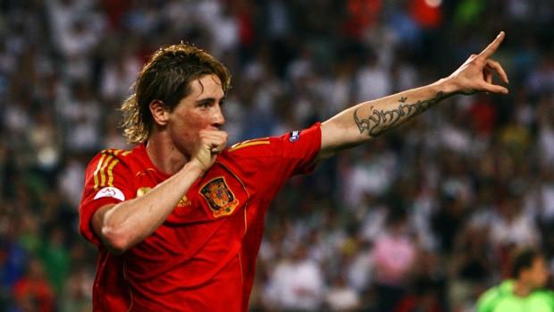 fernando torres espanha final eurocopa 2008 (Foto: Getty Images)