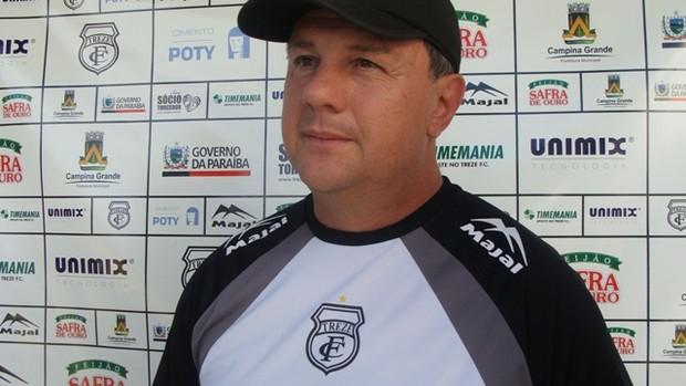 Marcelo Vilar, técnico do Treze-PB (Foto: Divulgação / Treze)