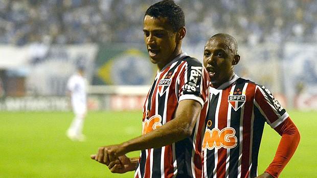 Cícero gol São Paulo (Foto: Ag. Estado)