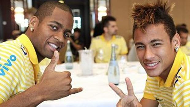 dedé neymar brasil almoço (Foto: Ricardo Stuckert / CBF)