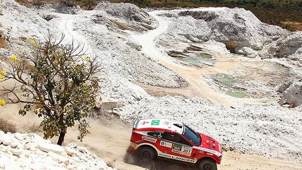 Guilherme Spinelli no Rally dos Sertões  (Foto: Andre Cahco / Fotoarena)