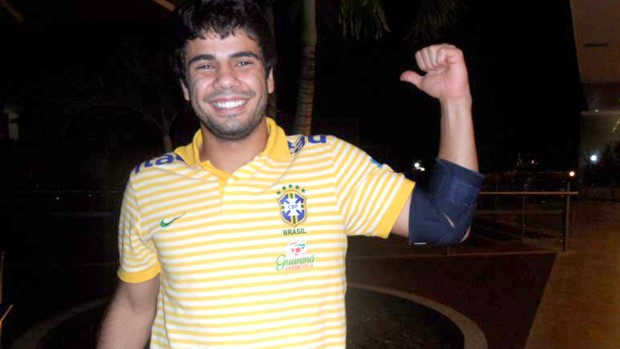henrique brasil sub-20 (Foto: Victor Canedo / Globoesporte.com)