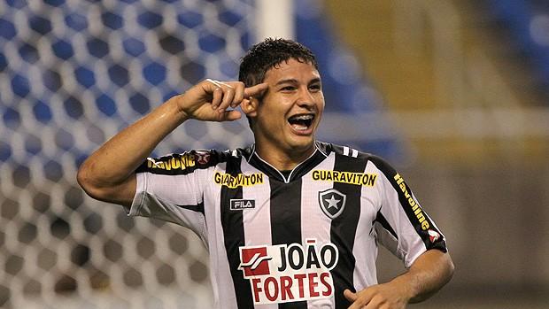 elkeson gol botafogo x atlético-mg (Foto: Cezar Loureiro/Globo)