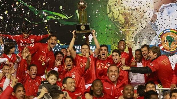 internacional campeão recopa (Foto: AP)