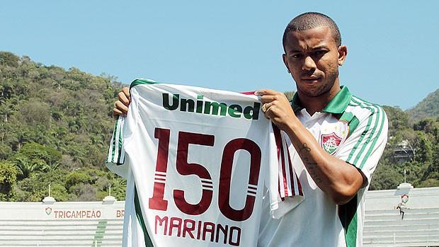 mariano fluminense 150 jogos (Foto: Divulgação/Flick Fluminense)