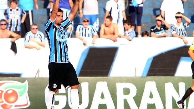 andre lima grêmio gol atlético-pr (Foto: Lucas Uebel / Agência Estado)