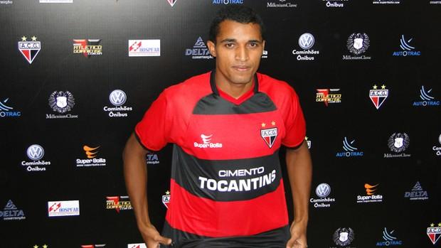 Dodó, durante sua apresentação no Atlético-GO (Foto: Divulgação/Atlético-GO)