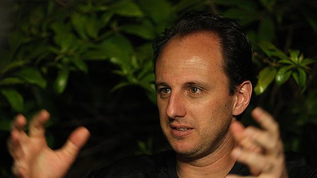 entrevista são paulo rogério ceni (Foto: Agência Estado)