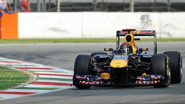 Sebastian Vettel treino livre GP da Itália Monza RBR (Foto: AFP)