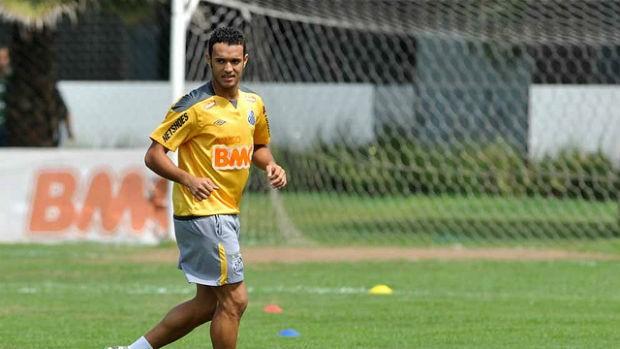 Anderson Carvalho, do Santos (Foto: divulgação/Santos FC)