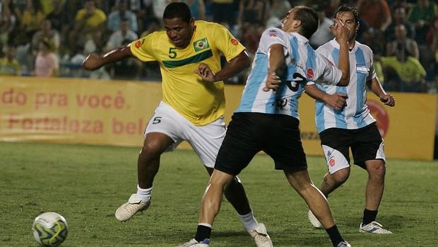 Nos 70 anos do PV, deu Argentina sobre Brasil: 5 x 4 (Kiko Silva/ Agência Diário)