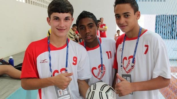 Guilherme_Malcon_e_Maycon olimpiadas escolares joão pessoa (Foto: João Paulo Garschagen)