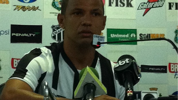 Leandro Chaves meia do Ceará (Foto: Gioras Xerez/Globoesporte.com)