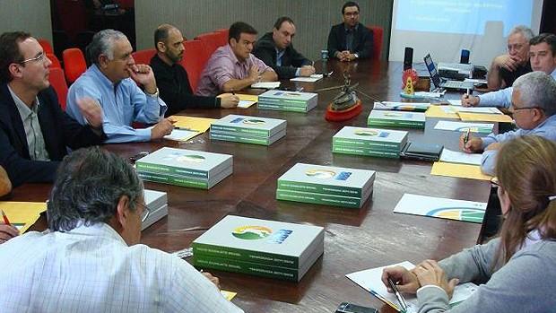 reunião nbb basquete (Foto: Reprodução/Facebook)