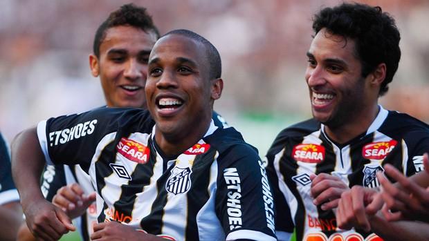 borges comemora, Corinthians x Santos (Foto: Marcos Ribolli/Globoesporte.com)