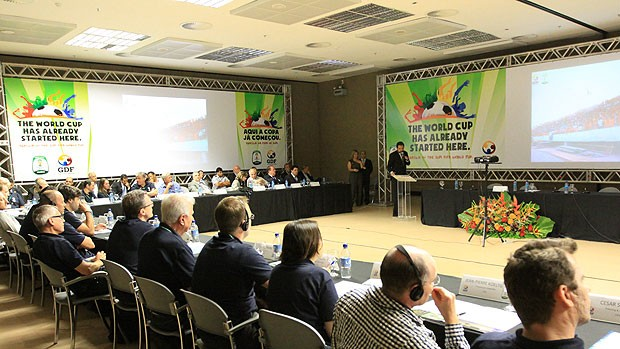 Brasília evento copa do mundo (Foto: Roberto Barroso/Agência Brasília)
