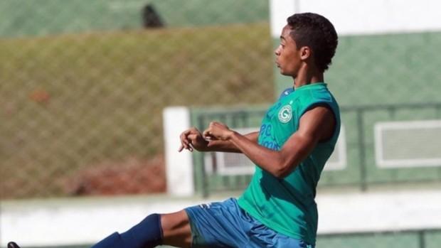 Felipe Amorim, meia-atacante do Goiás (Foto: Wildes Barbosa/O Popular)