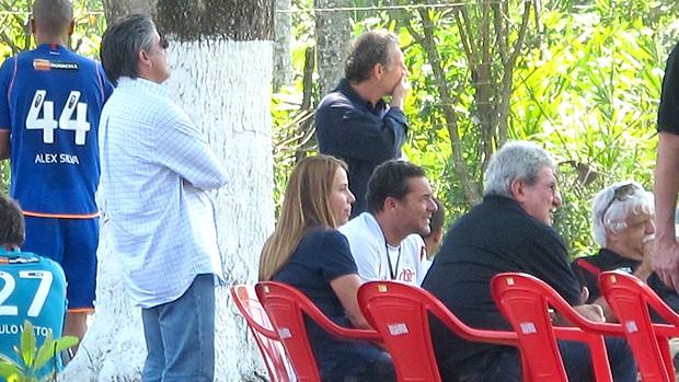 Patrícia Amorim Luxemburgo Flamengo (Foto: Janir Junior / Globoesporte.com)