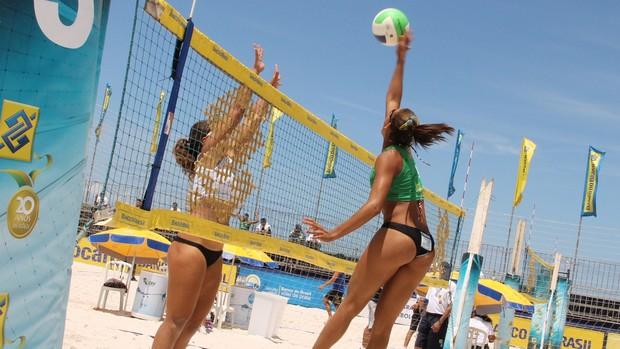 Vôlei de Praia Sub-21-Feminino (Foto: Divulgação / CBV)