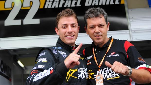Rafael Daniel e Alexandre Gramacho na divisão de acesso da Stock Car (Foto: Fernanda Freixosa / Stock Car)