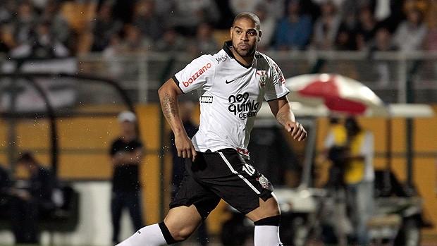 Adriano Corinthians x Atlético-GO (Foto: Miguel Schincariol / Globoesporte.com)