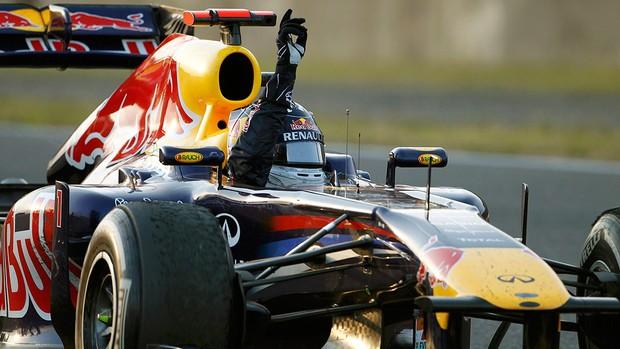 Vettel rbr gp do japão bicampeão (Foto: agência AP)