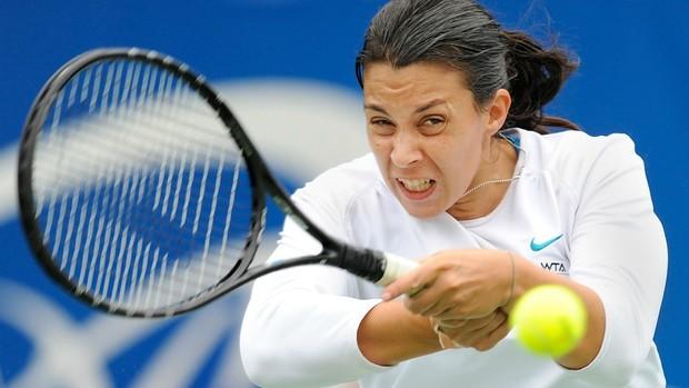 De olho em vaga no Masters de Istambul, Marion Bartoli enfrentará Angelique Kerber nas semifinais (Foto: AFP)