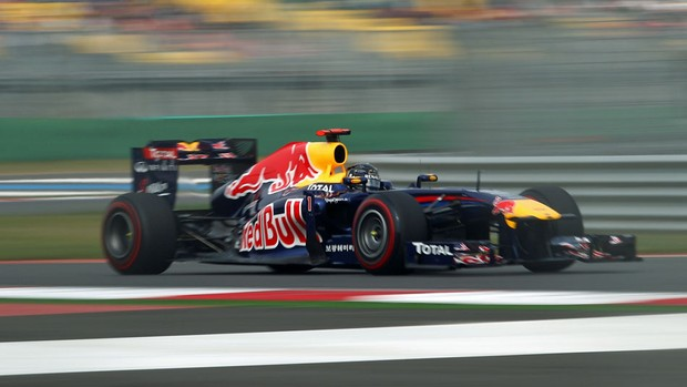 Sebastian Vettel RBR GP da Coreia do Sul treino classificatório Yeongam (Foto: Getty Images)