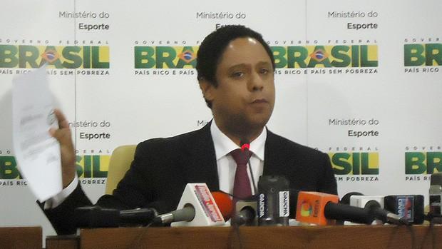 Orlando Silva ministro dos esportes (Foto: Marcelo Parreira / Globoesporte.com)