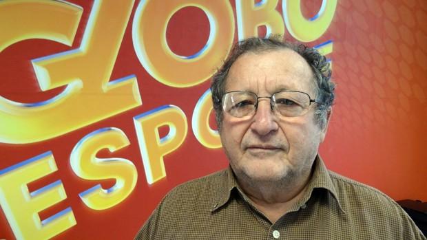 Pauloi Moraes, jornalista da Globo Nordeste (Foto: Lula Moraes/Globoesporte.com)