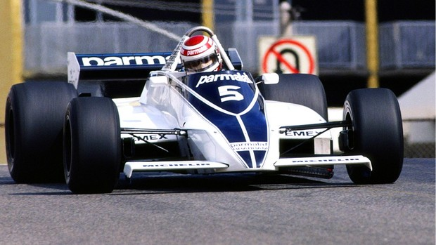 Nelson Piquet Brabham 1981 campeão mundial (Foto: Getty Images)