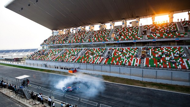 Inauguração Buddh International Circuit sede GP da Índia de Fórmula 1 (Foto: Getty Images)