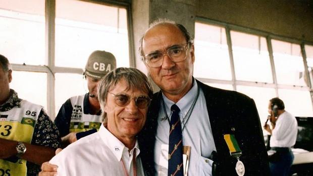 Mihaly Hidasy, diretor de provas do GP do Brasil de 1991 bernie ecclestone (Foto: Arquivo Pessoal)