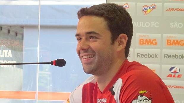 Juan do São Paulo  (Foto: Wagner Eufrosino / Globoesporte.com)