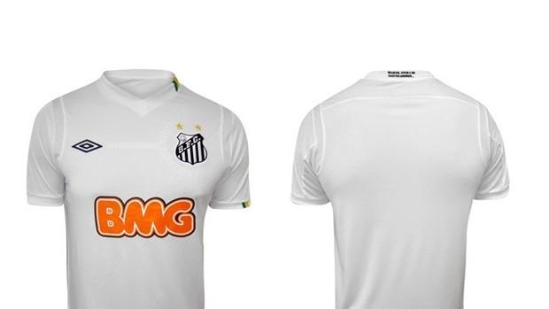 santos camisa nova (Foto: Reprodução)