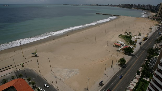 Praia de Iracema (Foto: Agência Diário)