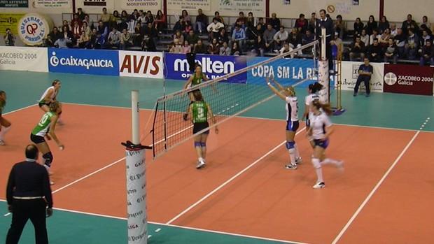 Voleibol feminino em quadra (Foto: Confederação Brasileira de Voleibol (CBV))
