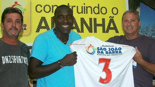 Odvan é apresentado no São João da Barra (Foto: Divulgação)