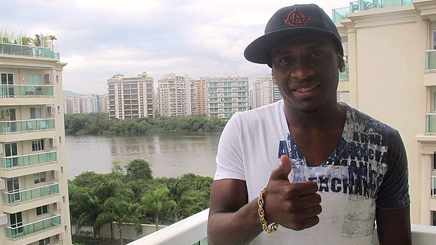 Entrevista com Willians do Flamengo (Foto: Janir Junior)