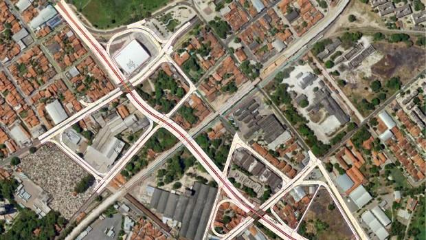 Complexo da Parangaba, em Fortaleza (Foto: Divulgação / PMF)