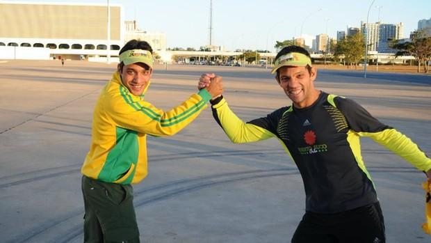 Juvam Palmeira faz campanha para arrecadar fundos para ultramaratonas (Foto: Divulgação: Arquivo Pessoal)