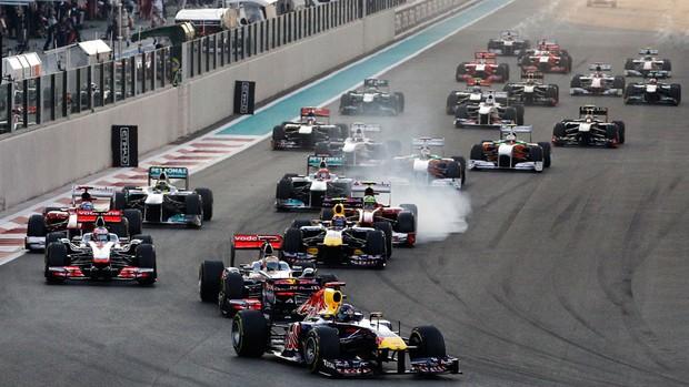 vettel fórmula 1 Abu Dhabi (Foto: AP)