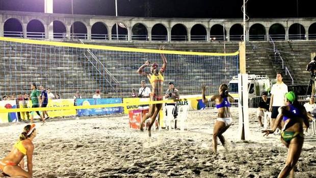 Desafio Cidade de Manaus de vôlei de praia (Foto: Anderson Silva)
