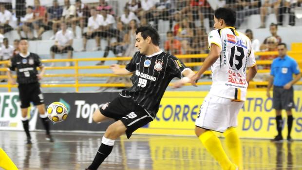 Tigre Corinthians Taça Brasil futsal (Foto: Divulgação/CBFS)