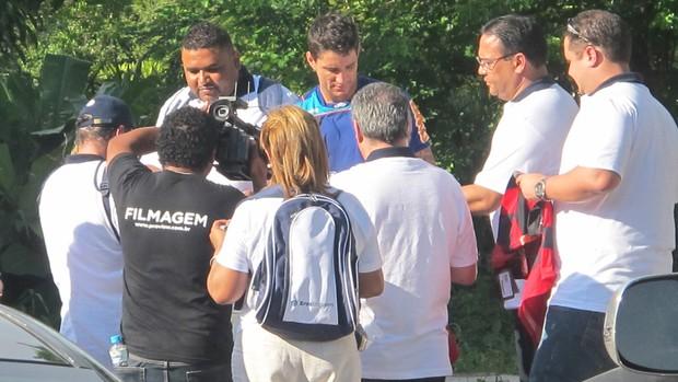 thiago neves flamengo (Foto: Richard Souza/Globoesporte.com)