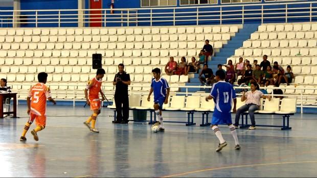 Primeira copa indígena de futsal da Região Metropolitana de Manaus (Foto: Divulgação/Agecom)