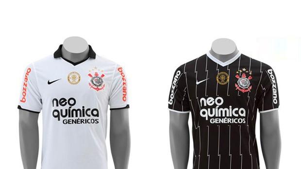 Corinthians inicia pré-venda de camisas oficiais com escudo do título 284afee9404c7