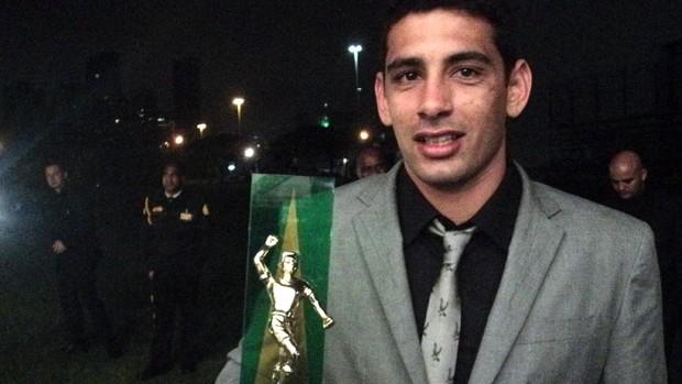 Diego Souza, meia do Vasco, Bem Amigos (Foto: Wagner Bordin / SporTV.com)